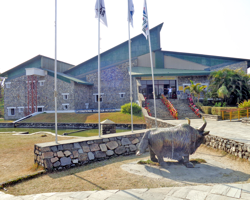 International Mountain Museum, built as one of the main attractions in Asia for the study of mountain tourism, in Pokhara on Wednesday, February 24, 2016. Photo: RSS