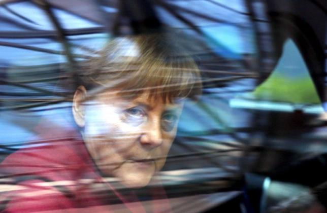 Germany's Chancellor Angela Merkel arrives at a European Union leaders summit over migration in Brussels, Belgium, March 17, 2016. REUTERS/Francois Lenoir