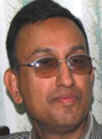 Nepali Congress CWC member Mahesh Acharya
