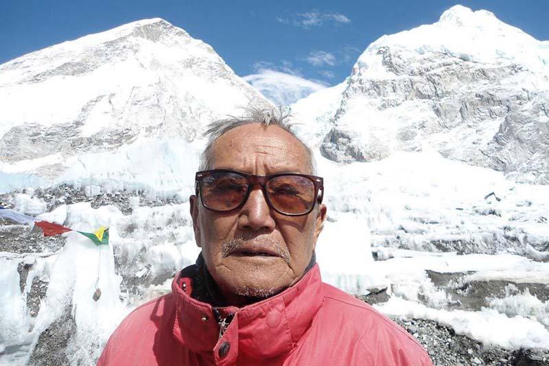 Min Bahadur Sherchan. Photo: THT/ File