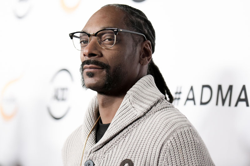FILE - Snoop Dogg attends the 2016 All Def Movie Awards held at Lure  in Los Angeles, on February 24, 2016. Photo: AP