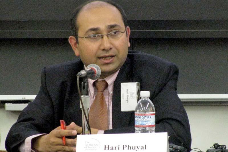 Attorney General Hari Phuyal. Photo: Facebook