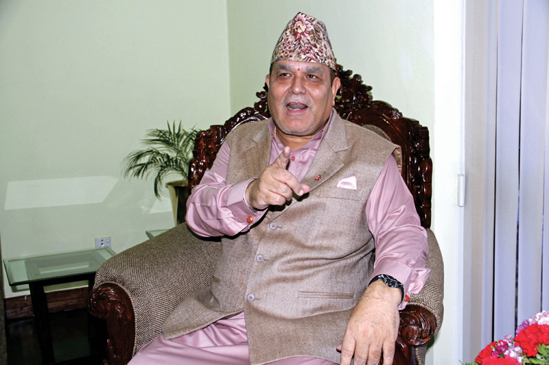 FILE: Commission for the Investigation of Abuse of Authority (CIAA) Chief Lok Man Singh Karki. Photo: THT