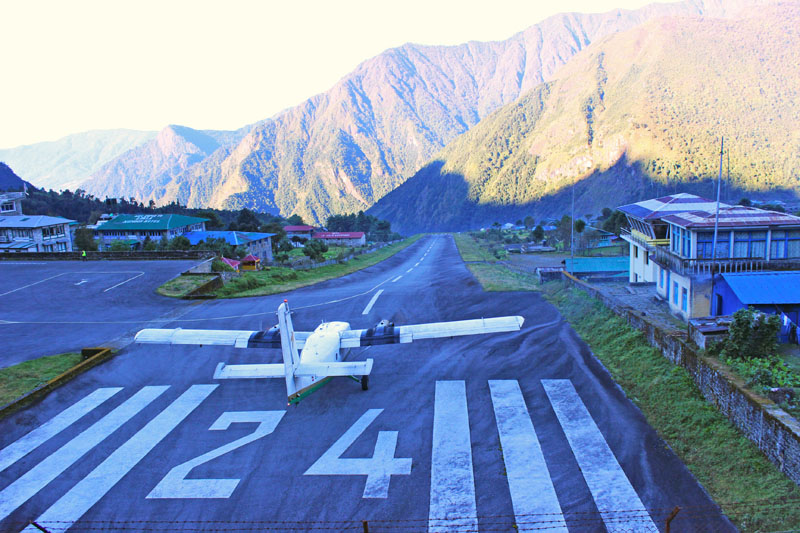 Tenzing-Hillary Airport, in Lukla. Photo: THT/File