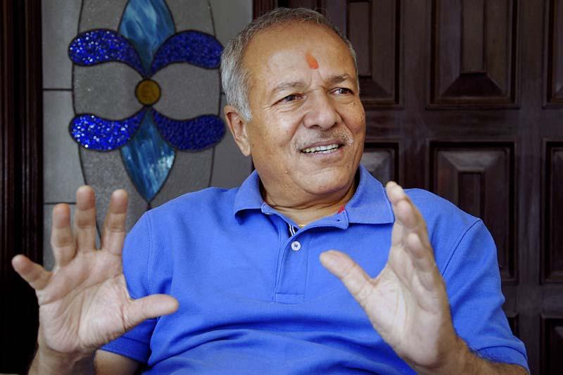 Minister for Labour and Employment Deepak Bohara. Photo: Bal Krishna Thapa/ THT