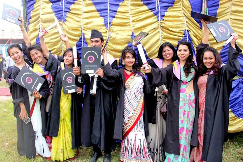 Purbanchal University Convocation photoshoot