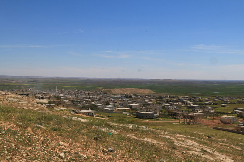 A general view shows al-'Iss town after Syrian rebels and the al Qaeda-affiliated Nusra Front took control of it, in Aleppo countryside, Syria, on April 2, 2016. Photo: Reuters