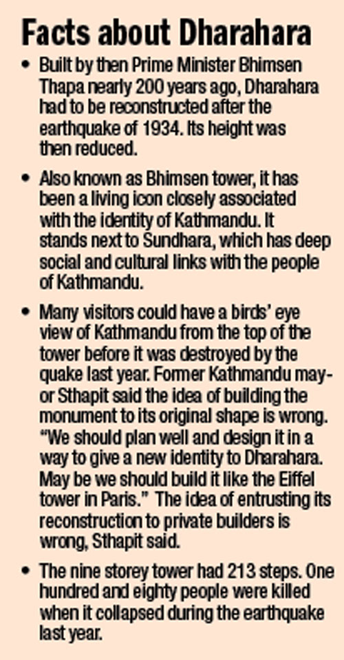 facts about Dharahara