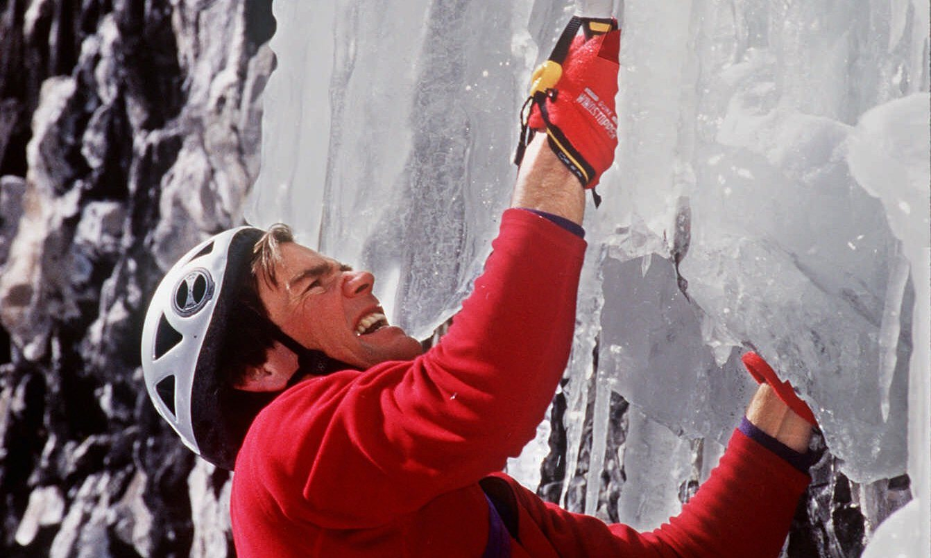 Alex Lowe, who was renowned for his strength and stamina, died alongside the cameraman David Bridges. Photo: AP/Filen