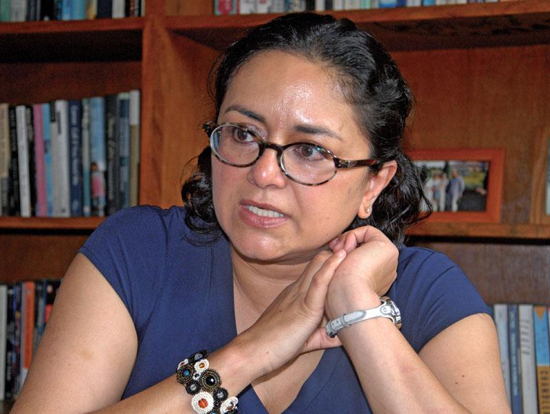 Author Manjushree Thapa. Photo: Balkrishna Thapa Chhetri/THT