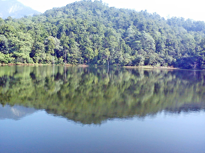 Bedkot Lake at Religious Tourist Site in Daiji of Kanchanpur district as captured on Tuesday, May 3, 2016. Photo: RSS