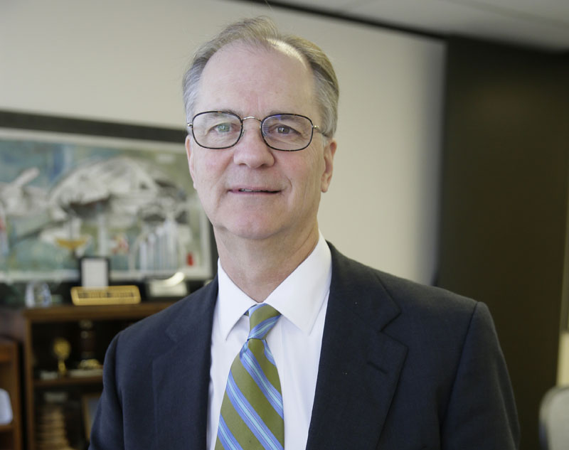Tang Energy CEO Patrick Jenevein poses for a photo in his office in Dallas. Several months earlier, Tang Energy won an arbitration case arising from a contract with Aviation Industry Corporation, on Friday, May 6, 2016.Photo: LM OteroAP