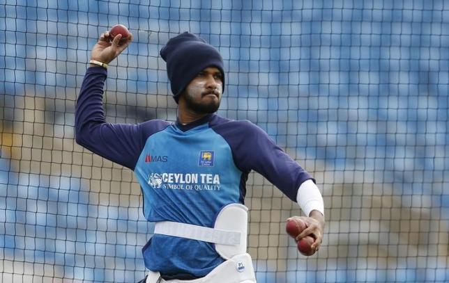 Britain Cricket - Sri Lanka Nets - Headingley - 17/5/16nSri Lanka's Dushmantha Chameera during netsnAction Images via Reuters / Lee Smith/ Livepic/ Files