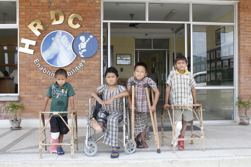 Children at HRDC. Photo: World of Children