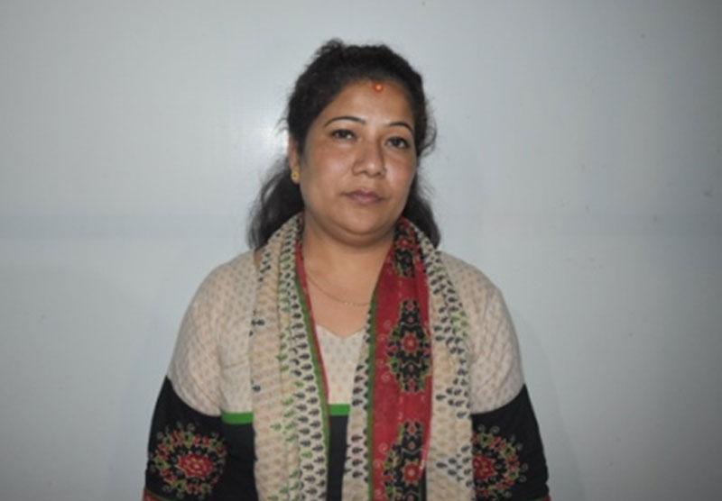 Laxmi  Devi BK. Photo: MPCD