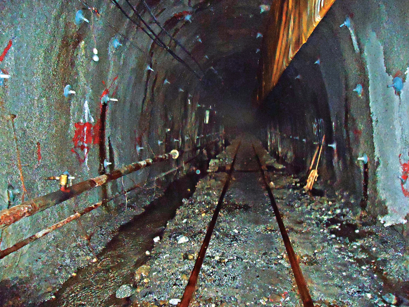 File photo of Melamchi Water Supply Project tunnel.