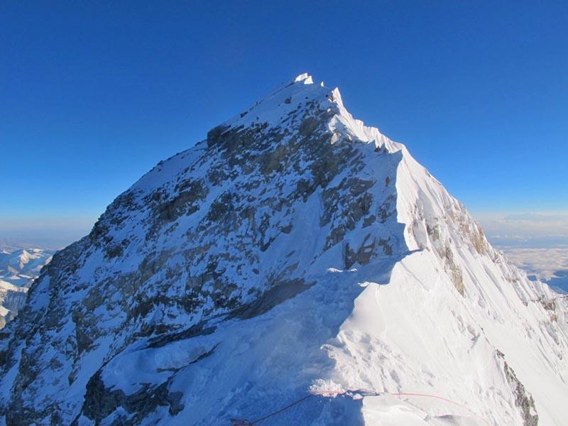 Climbers on Mt Everest summit push. Photo: Mingma Thundu Sherpa
