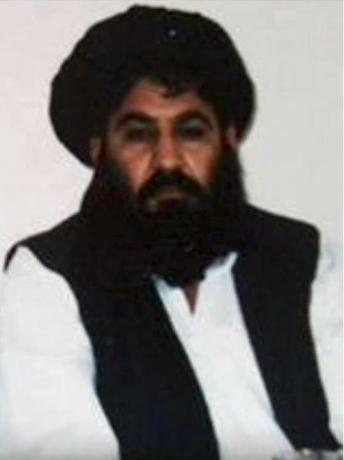 Mullah Akhtar Mohammad Mansour, Taliban militants' new leader, is seen in this undated handout photograph by the Taliban.    Taliban Handout/Handout via Reuters