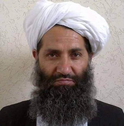 Taliban new leader Mullah Haibatullah Akhundzada is seen in an undated photograph, posted on a Taliban twitter feed on May 25, 2016, and identified separately by several Taliban officials, who declined be named.  Social Media via Reuters