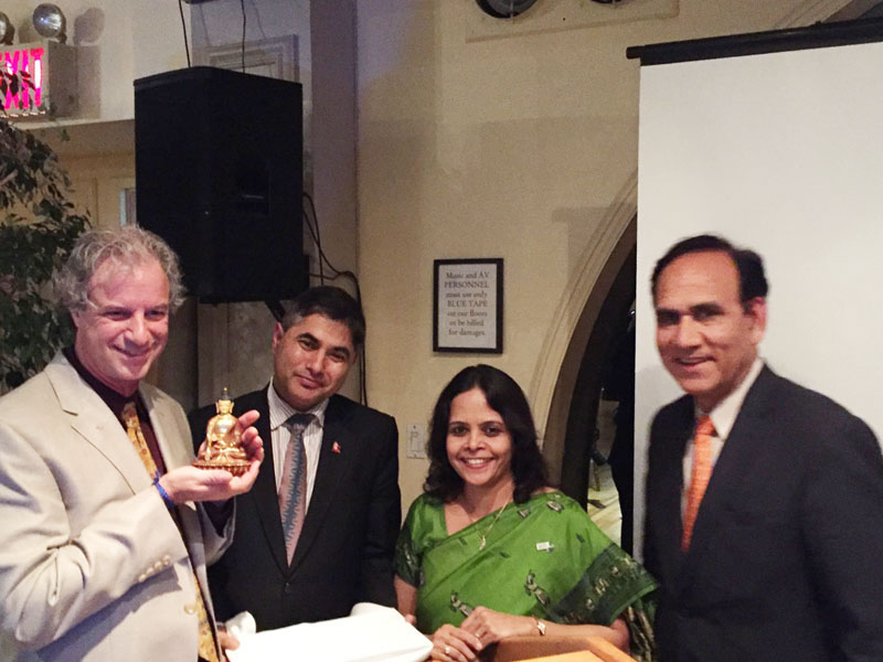 The New York Pacific Asia Travel Association (PATA) in collaboration with The Consulate General of Nepal in New York and The Bansal Foundation organised The Reopening of Nepal Tourism after the earthquake of 2015 on May 3 in New York, USA. Photo: Photo: Courtesy Rebecca Slater