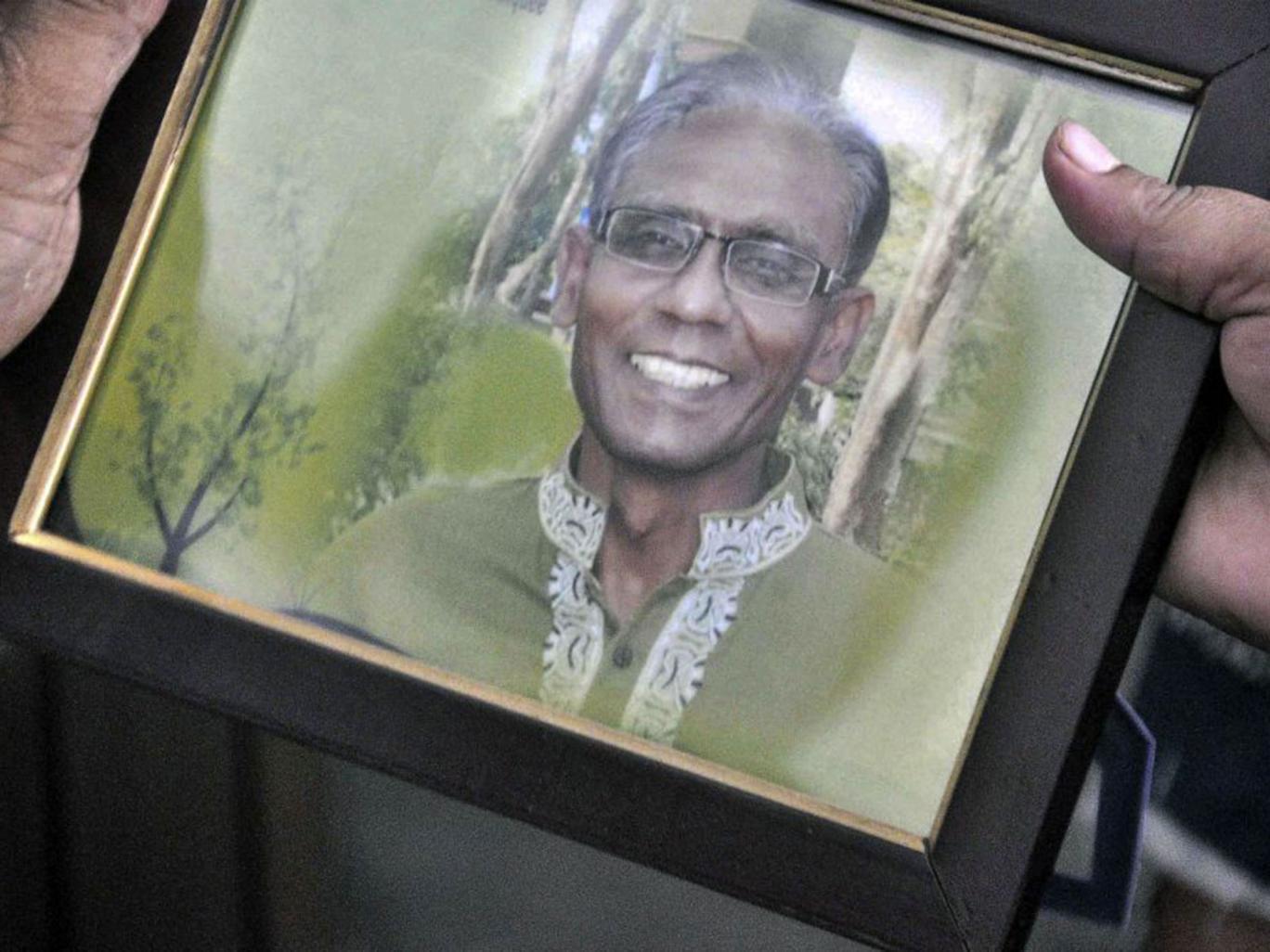 Prof Rezaul Karim Siddiquee taught English at Rajshahi University. Photo: AFP/File