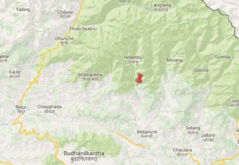 Sindhupalchok. Photo: Google Maps