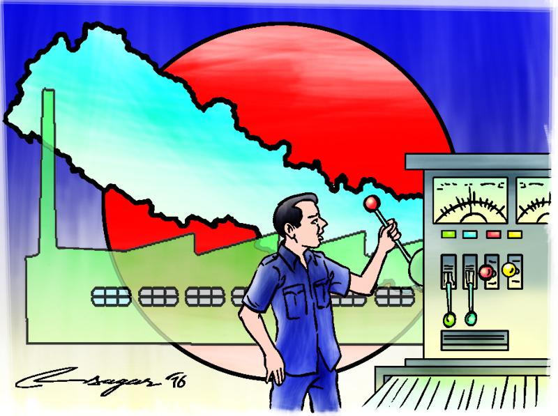 Nepal Technology. Illustration: Ratna Sagar Shrestha/THT