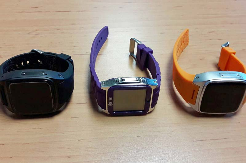 In this Saturday May 7, 2016 photo by Assistant Prof.Pakarat Jumpanoi, shows three smartwatches used  by students caught cheating in exams for admission to medical and dental faculties in Bangkok, Thailand. Photo: Rangsit University via AP