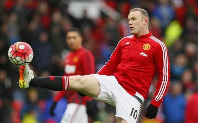 Britain Football Soccer - Manchester United v Leicester City - Barclays Premier League - Old Trafford - 1/5/16nManchester United's Wayne Rooney warms up before the gamenAction Images via Reuters / Jason Cairnduff/ Livepic/ Files