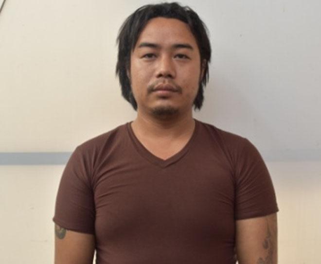 Denjin Lama, a suspect of abroad strudy fraud, nabbed on Friday, April 29, 2016. Photo: MPCD