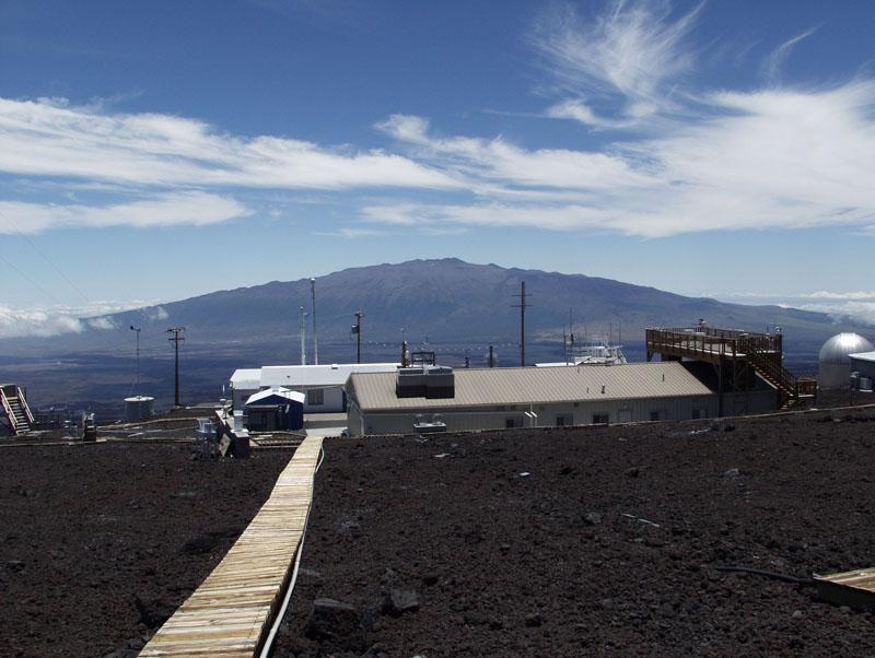 NOAA's Mauna Loa Observatory in Hawaii. Photo: NOAA via AP