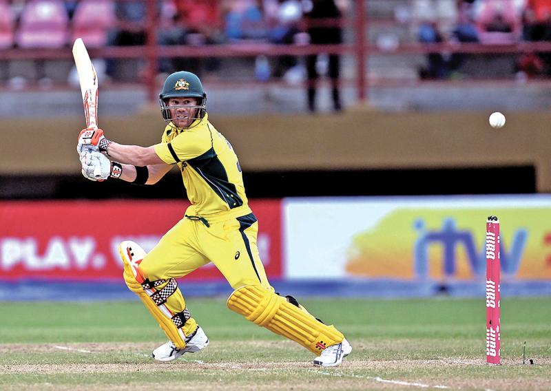 David Warner, Australia, West Indies, One-day International