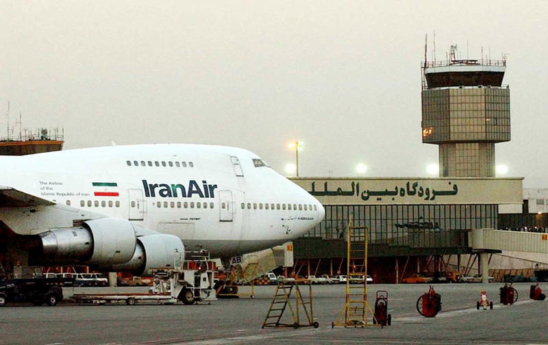 FILE - In this June 2003 file photo, a Boeing 747 of Iran's national airline is seen at Mehrabad International Airport in Tehran. Photo: AP