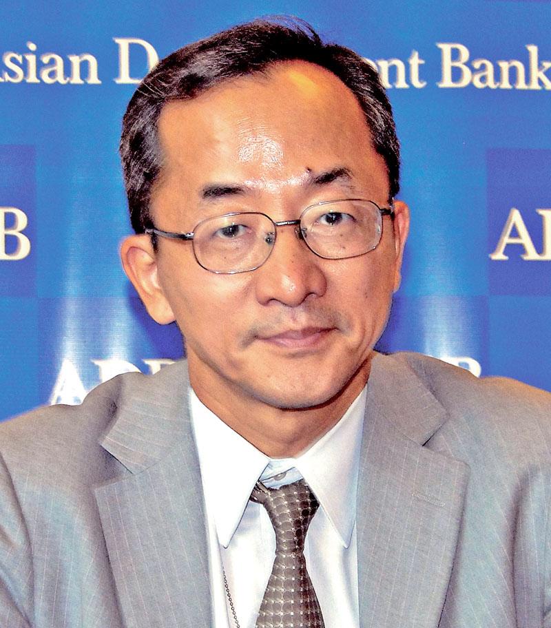 Kenichi Yokoyama, Country Director (Nepal) of Asian Development Bank. Photo: Bal Krishna Thapa Chhetri/THT