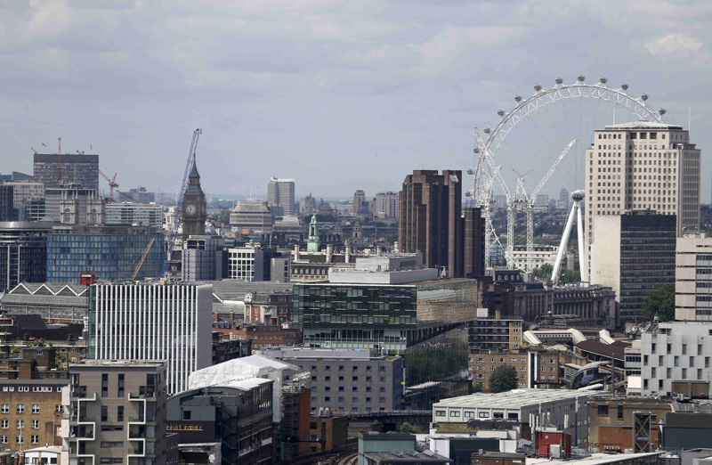 A general view shows the city of London, Britain June 28, 2016. Photo: Reuters