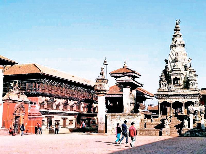 Patan Durbar Square, Nepal Tourism, Tourists, Patan