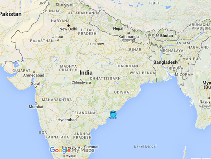 Visakhapatnam Seaport. Image: Google Maps