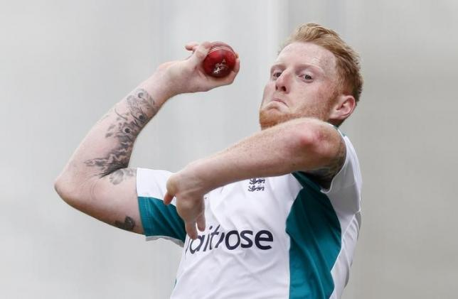 Britain Cricket - England Nets - Emirates Old Trafford - 21/7/16nEngland's Ben Stokes during netsnAction Images via Reuters / Jason CairnduffnLivepic