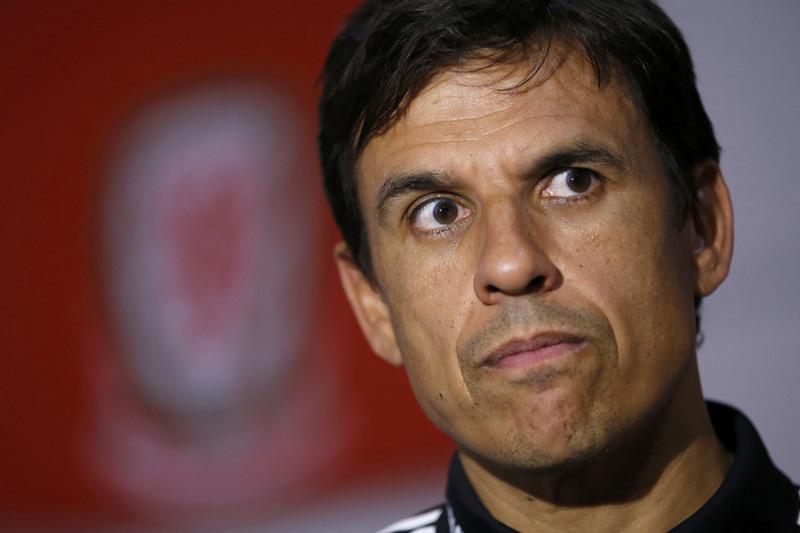 Wales coach Chris Coleman. Photo: Reuters
