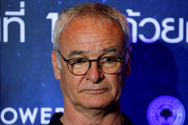 Football club Leicester City manager Claudio Ranieri attends a meeting with media in Bangkok, Thailand May 18, 2016. REUTERS/Jorge Silva/Files