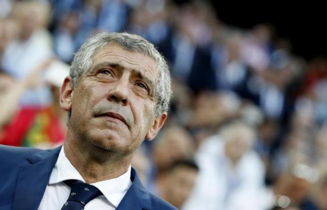 Football Soccer - Poland v Portugal - EURO 2016 - Quarter Final - Stade Velodrome, Marseille, France - 30/6/16. Portugal head coach Fernando Santos. REUTERS/Christian Hartmann