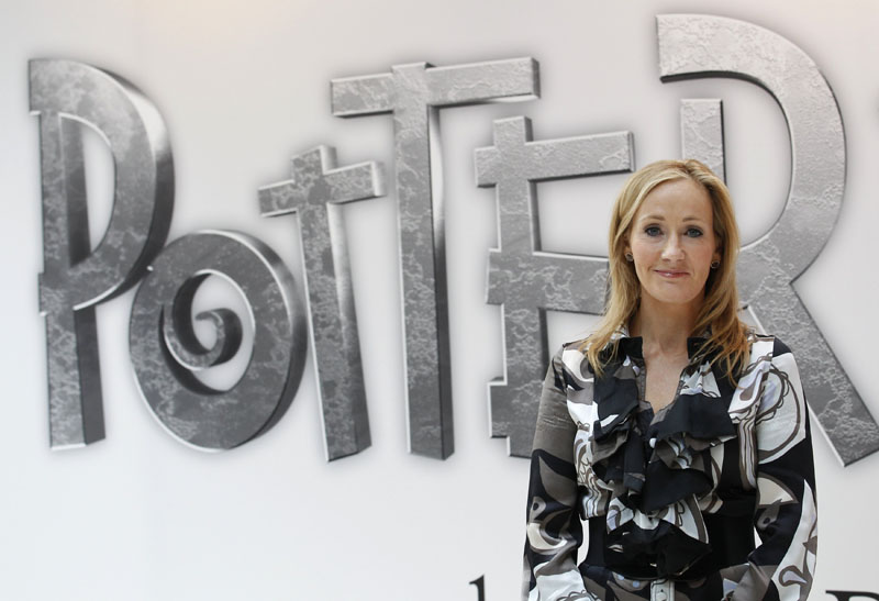 British author JK Rowling, creator of the Harry Potter series of books, poses during the launch of new online website Pottermore in London June 23, 2011.Photo: REUTERS