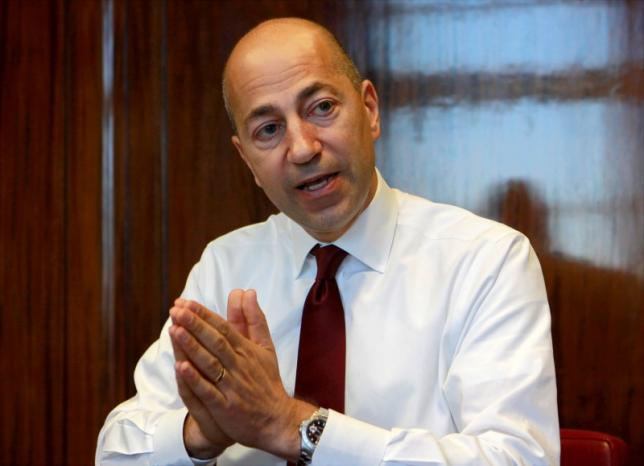 Chief Executive Officer of Arsenal Ivan Gazidis gestures during an interview with Reuters in his office in London June 1, 2011. REUTERS/Suzanne Plunkett/Files