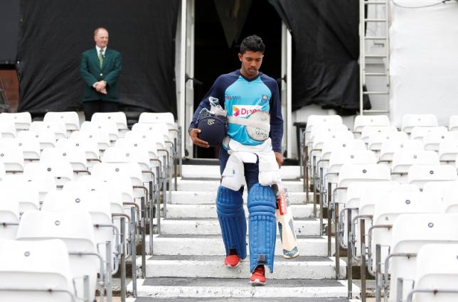 Britain Cricket - Sri Lanka Press Nets - Trent Bridge - 20/6/16nKusal Mendis of Sri Lanka before netsnAction Images via Reuters / Ed SykesnLivepic/Files
