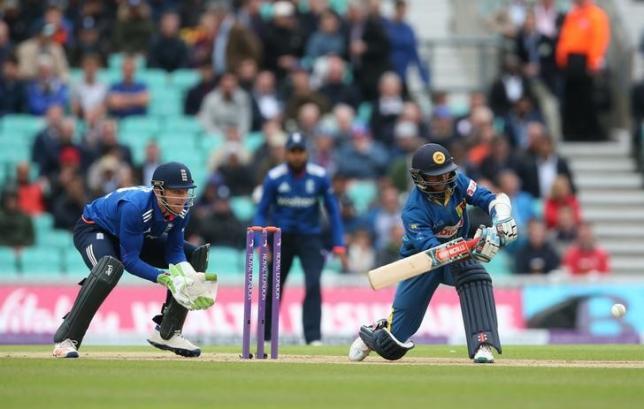 Britain Cricket - England v Sri Lanka - Fourth One Day International - Kia Oval - 29/6/16nSri Lanka's Kusal Mendis in actionnAction Images via Reuters / Matthew ChildsnLivepic