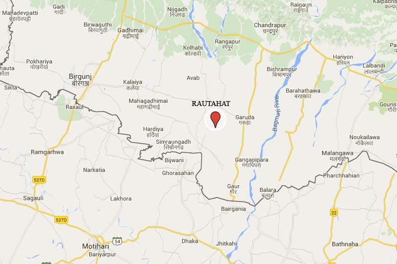 Lal Bakaiya in Rautahat. Source Google Maps