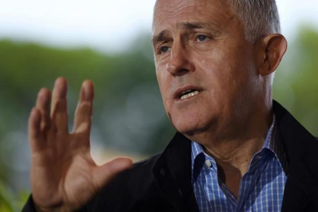 Australian Prime Minister Malcolm Turnbull speaks to the media during a news conference on the Great Barrier Reef in Townsville, Australia, June 13, 2016   AAP/Lukas Coch/via REUTERS