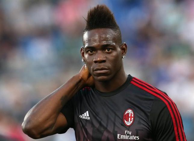 Football Soccer - Juventus v Milan - Italian Cup Final - Olympic stadium, Rome, Italy - 21/05/16  AC Milan's Mario Balotelli looks on before the match against Juventus.    REUTERS/Alessandro Bianchi/Files