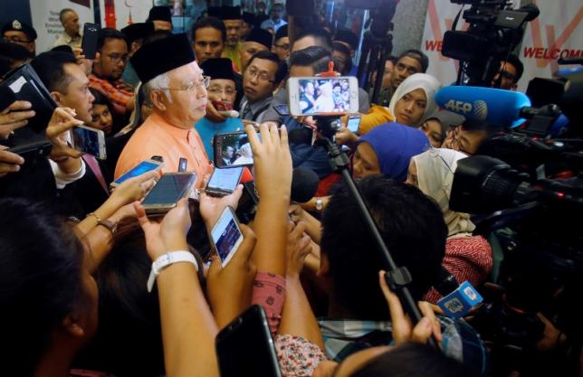 Malaysia's Prime Minister Najib Razak speaks to journalists after attending an event in Kuala Lumpur, Malaysia July 21, 2016. REUTERS/Lai Seng Sin FOR EDITORIAL USE ONLY. NO RESALES. NO ARCHIVES. - RTSJ023