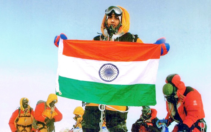 Tarkeshwari Chandrakant Bhelerao allegedly morphed the photograph to claim her Everest victory